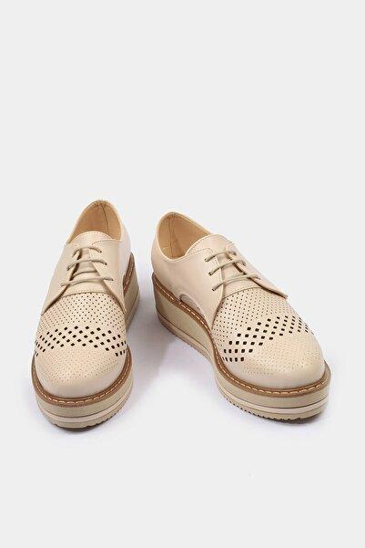 Bej Yaya Kadın Spor Ayakkabı