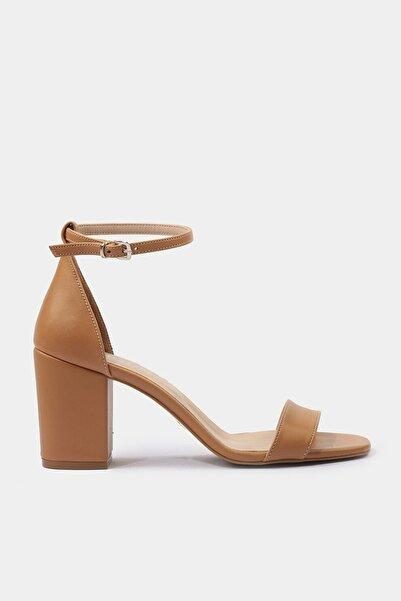 Hotiç Camel Kadın Topuklu Sandalet