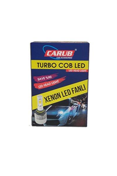 Carub Kıa Rıo 2011 Sonrası Kısa Far Led Xenon Turbo Fanlı 12v H4