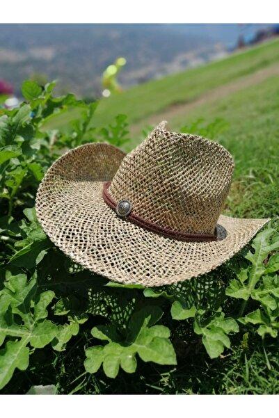 Chapka Unisex Bej Hasır Şapka