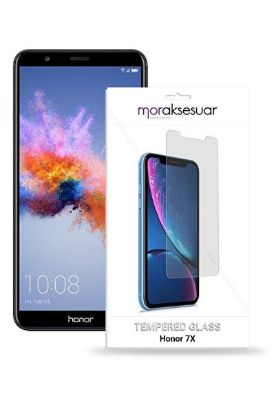 HONOR Huawei 7x Uyumlu Temperli Kırılmaz Cam Ekran Koruyucu Sert