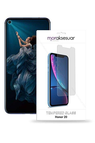 HONOR Huawei 20 Temperli Kırılmaz Cam Ekran Koruyucu Sert