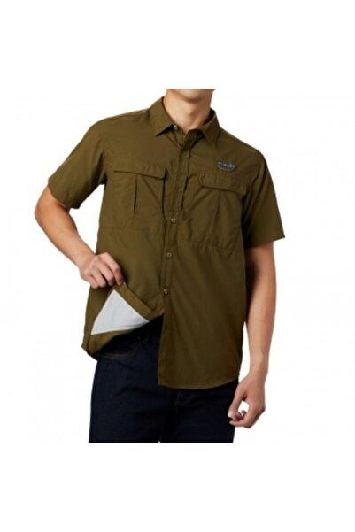 Columbia Erkek Yeşil Cascades Explorer Long Sleeve Shirt