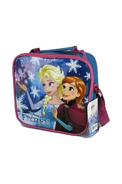 Frozen Elsa Ve Anna Kız Çocuk Beslenme Çantası