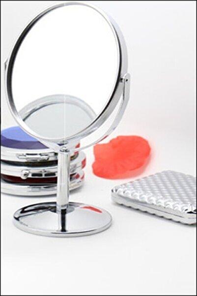 Kitchen Love Metal Büyüteçli Çift Taraflı Ayna-17cm(ayaklı)
