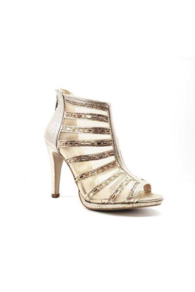 PUNTO Kadın Sarı Ince Topuklu Ayakkabı 655113z