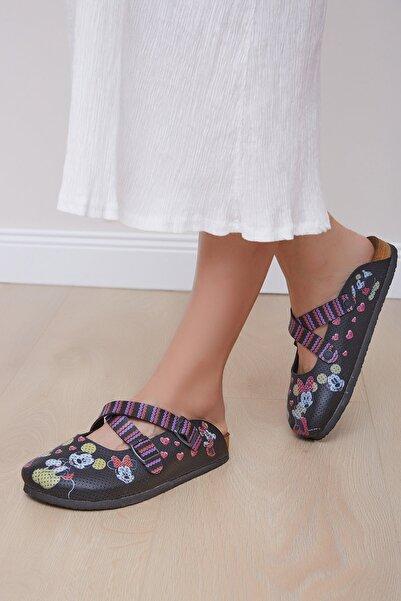 Shoes Time Kadın Siyah Terlik 20y 814