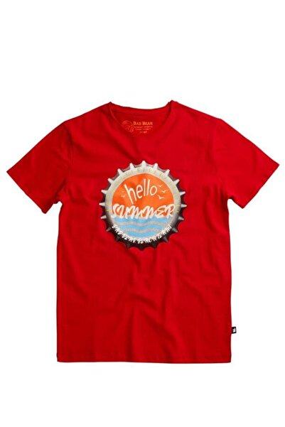 Bad Bear Unisex Kırmızı Hello Summer Tee Crımsonred T-shirt  (20.01.07.038-c54)