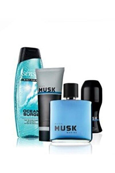 Musk Marine Erkek Parfüm Seti Orjınal Set