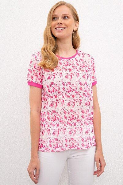 U.S. Polo Assn. Kadın T-Shirt G082SZ011.000.1089056
