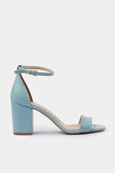 Hotiç Mavi Kadın Topuklu Sandalet