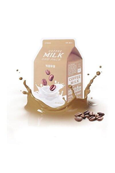 Missha Kahveli Sütlü Nemlendirici Yaprak Maske - Coffee Milk One-Pack 21g 8806185780285