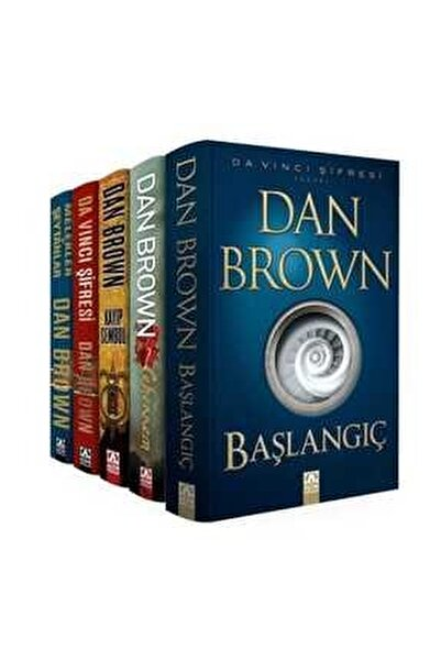 Dan Brown-Set-Robert Langdon Serisi-5 Kitap Takım - Dan Brown