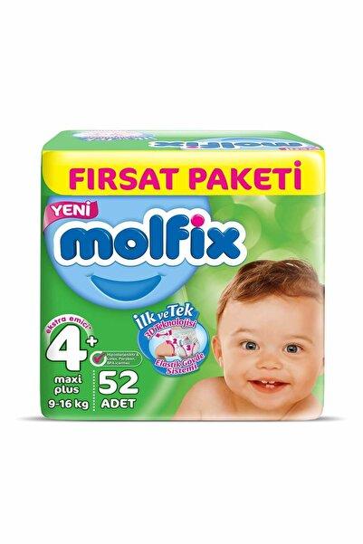 Molfix Süper Ekonomik Paket 9/16 kg no:4 52 adet