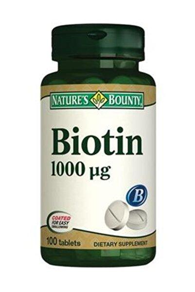 Natures Bounty Biotin 1000 mg 100 Tablet