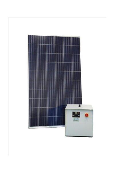 isos enerji 1200 WATT GÜNEŞ ENERJİLİ MİNİ BUZDOLABI TV VE AYDINLATMA PAKETİ