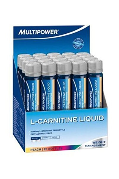 L-Carnitine Liquid Forte 1800 Mg 20 Ampül - ŞEFTALİ