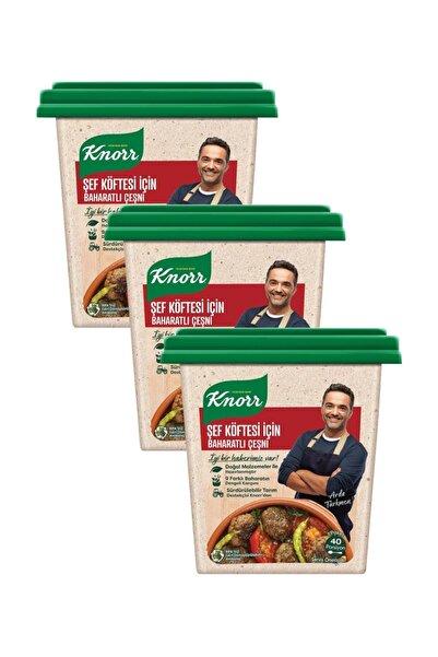 Knorr Şef Köftesi İçin Baharatlı Çeşni 110 G x 3