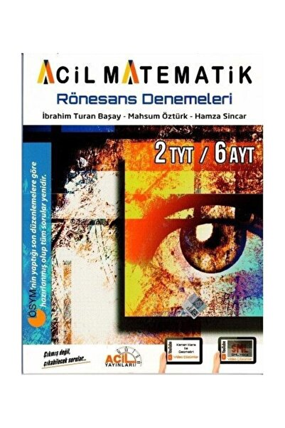 Tyt Ayt Acil Matematik Rönesans Denemeleri 2020