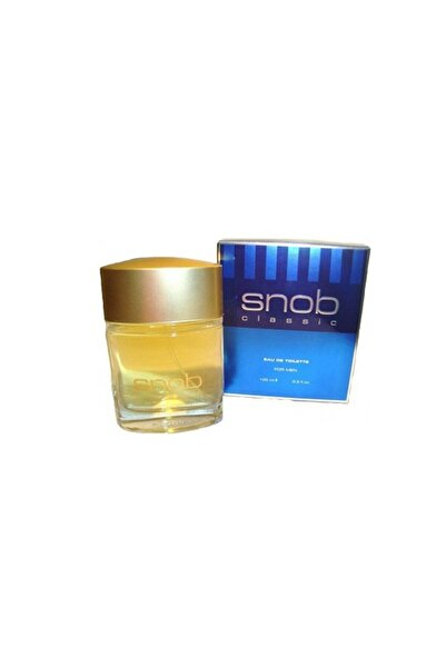 Snob Classic Edt 100 ml Erkek Parfümü 8690644006050