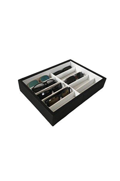 OBTech Masa Üstü Çekmece İçi Model 10'lu Gözlük Koleksiyon Stant  2 Renk