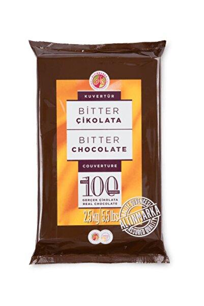 Kahve Dünyası Bitter Kuvertür Çikolata 2,5 kg