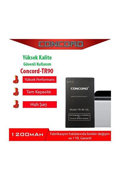 Concord TR-90 Cep Telefonu Bataryası