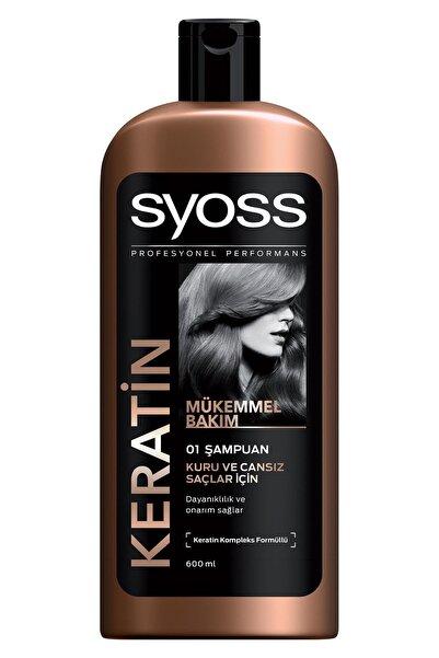 Syoss Keratın Mükemmelliği Şampuan 550 ml