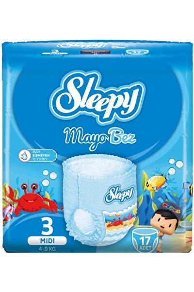 Sleepy Mayo Külot Bez 3 Beden Midi 17 Adet 4-9 kg