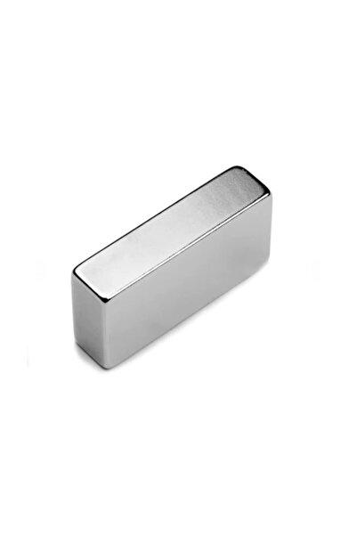 Dünya Magnet Mıknatıs, 40mm X 20mm X 10mm Köşeli Süper Güçlü Neodyum Mıknatıs