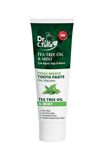 Dr. C. Tuna Çay Ağacı Yağı ve Naneli Diş Macunu 112 g 8690131108014