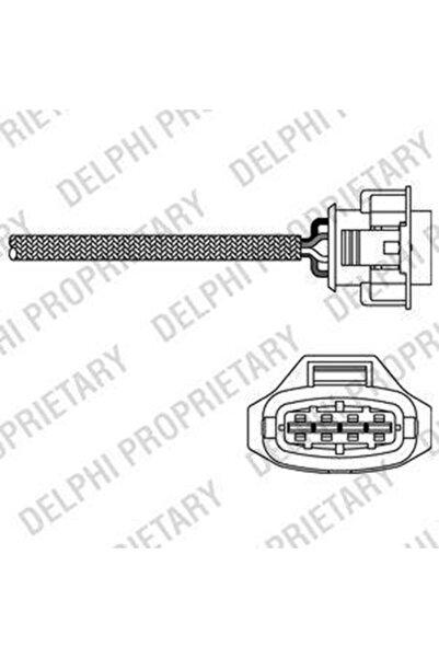 Delphinus Yayıncılık Oksijen Sensoru ( Opel : Astra G-- H Vectra C 1.6 Z16Xep ) - Del-Es10791-12B1