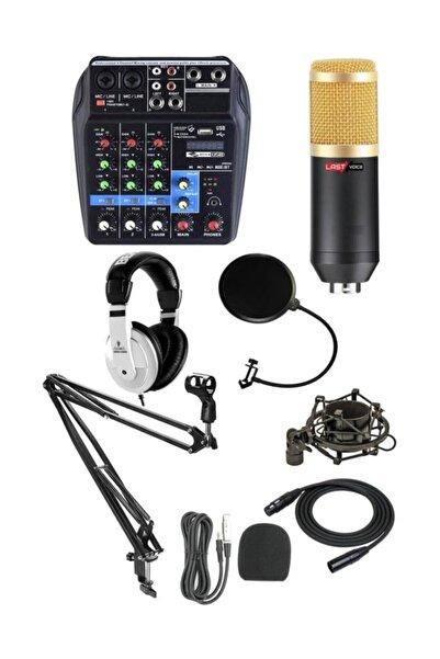 Lastvoice Mix Paket-2 Stüdyo Youtuber Kayıt Ekipman Seti