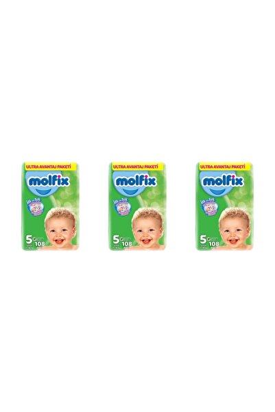 Molfix Bebek Bezi Ultra Avantaj Paketi 5 Numara 108 x 3 Adet