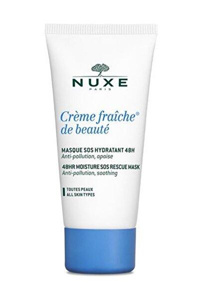 Nuxe Nemlendirici ve Yatıştırıcı Nem Maskesi - Masque Creme Fraiche De Beaute 50 ml 3264680005374