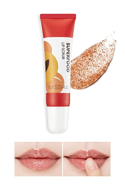 Missha Super Food Apricot Lip Scrub