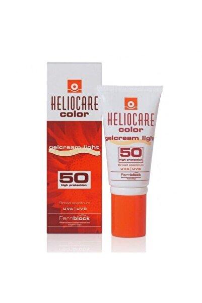 Color Spf 50 Gel Cream Light 50 ml