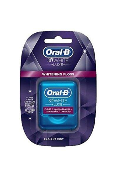 Oral-B 3D White Luxe Whitening Floss Diş İpi 35m
