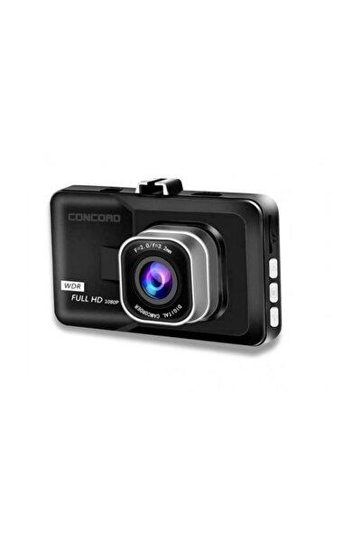 """Concord C-658 Türkçe Araç İçi IPS Kamera Full HD 3.0""""  Gece Çekim"""