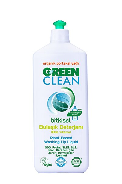 Green Clean BİTKİSEL BULAŞIK DETERJANI 730 ML.