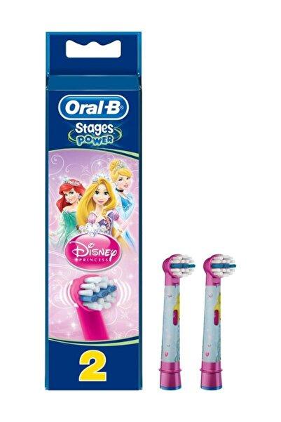 Oral-B Diş Fırçası Yedek Başlığı Stages Prenses Çocuk 2'li