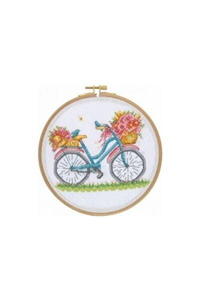 Tuva Yayıncılık Tuva Kanaviçe Etamin Kiti Bisiklet CCS01