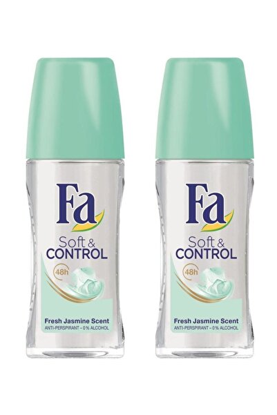 Fa Soft & Control Roll-On 50 ml X 2 Adet