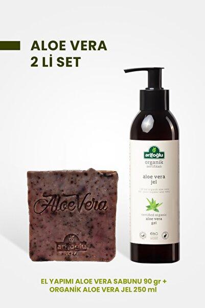 Arifoğlu Aloe Vera Jel 250 ml + Aloe Vera Sabun 90 gr 2 Li Set