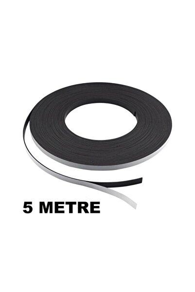 Dünya Magnet 5 Metre Şerit Magnet Mıknatıs - Arkası Yapışkanlı Çıkartmalı(5 Metre)