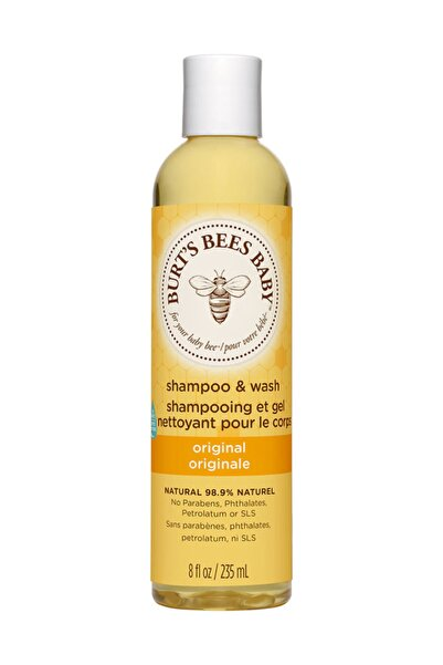 Burts Bees Bebek Saç Ve Vücut Şampuanı - Baby Bee Shampoo Body Wash 235 ml 792850727007