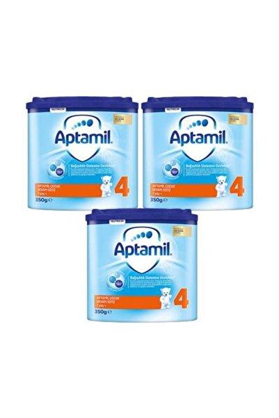 Aptamil 4 Numara Devam Sütü 3 Lü Paket 350 Gr