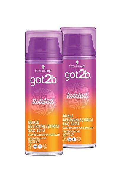 Got2B Twısted Bukle Belirginleştirici Saç Sütü 150 ml X 2 Adet