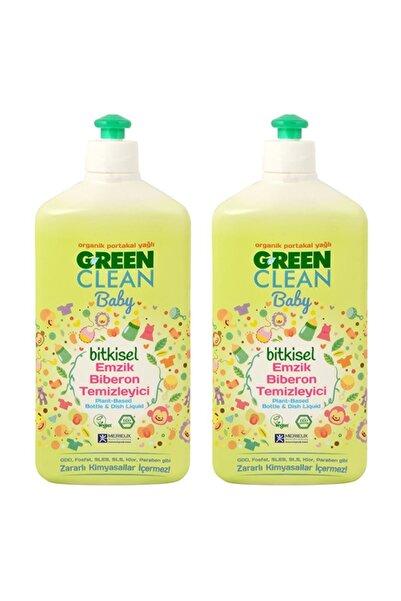 Green Clean Organik Portakal Yağlı Baby Biberon Emzik Temizleyici 500 ml - 2'li set