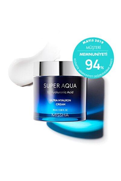 Missha Yoğun Nemlendirici Cilt Bakım Kremi - Super Aqua Ultra Hyalron Cream 8809643505260